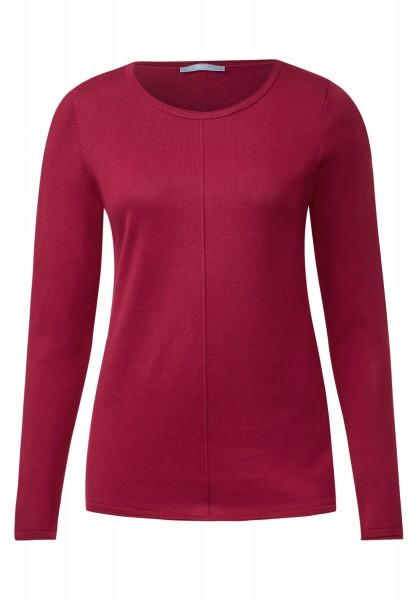 CECIL - Basic-Style Pullover Alena Crimson Red