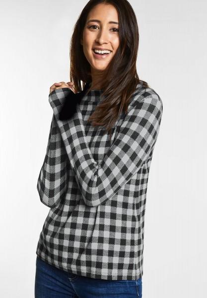 Street One - Karo-Style Shirt Lena in Black