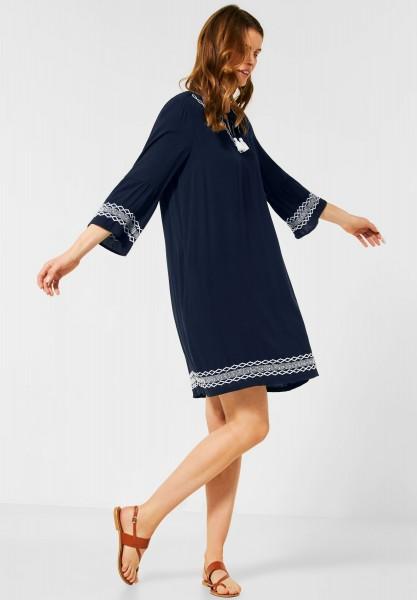 CECIL - Kurzes Kleid im Tunika-Style in Deep Blue