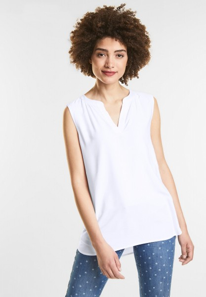 Street One - Top im Longblusen Style in White