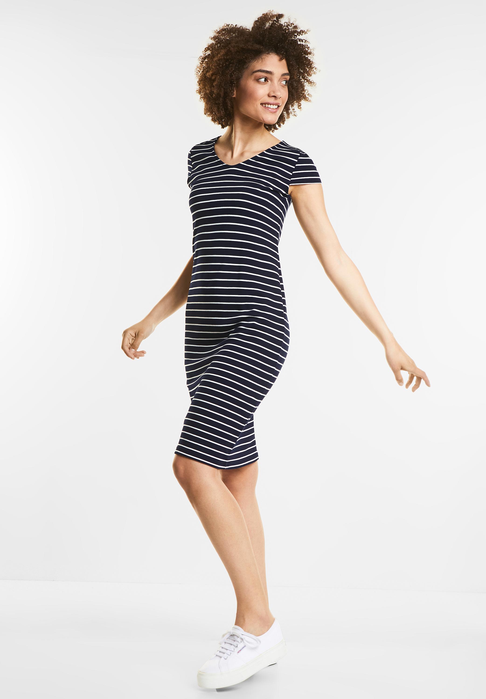 Deep One Mit Kleid Streifen In Blue Street Sweat 3R5jL4A