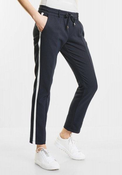 Street One Gallon Joggpants Fay in Night Blue
