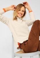 CECIL - Cosy Teddy Shirt in Teddy Cream Beige