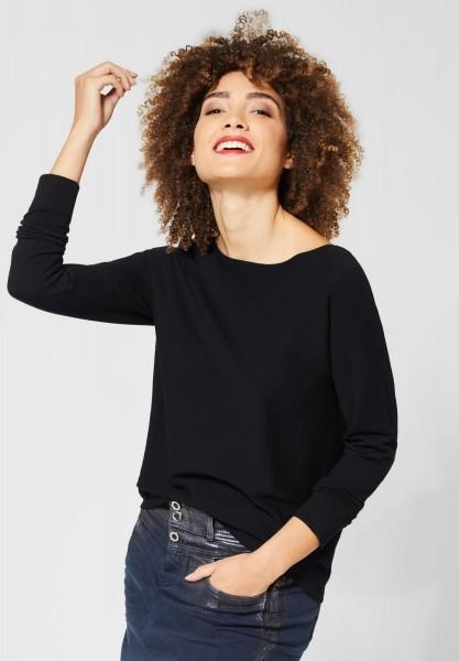 Street One - Basic Shirt Enisa in Black