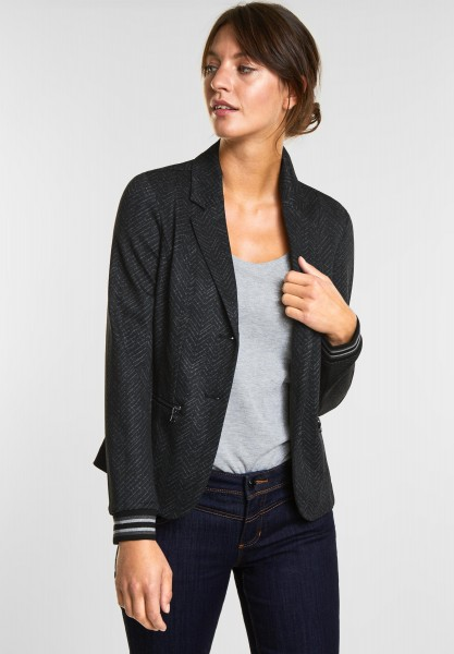 Street One Sportlicher Blazer in Black