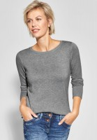 CECIL - Softer Pullover Alena in Mineral Grey Melange