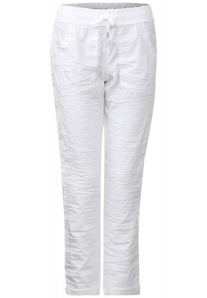 Street One - Crashed Joggpants Leona in White