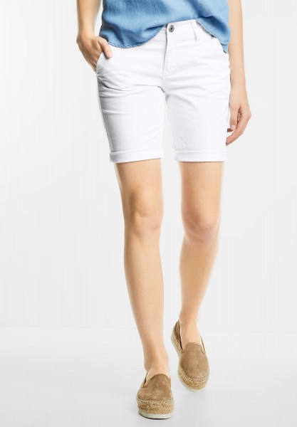 Street One - Bermuda Hose Joris in White