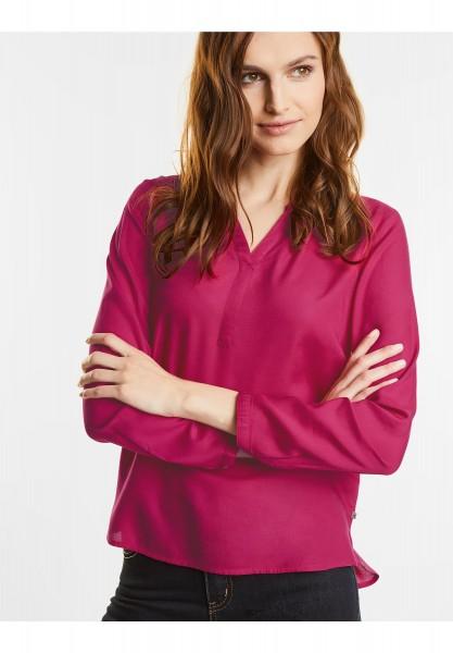 Street One - Tunika Style Bluse Hedda in Funky Pink