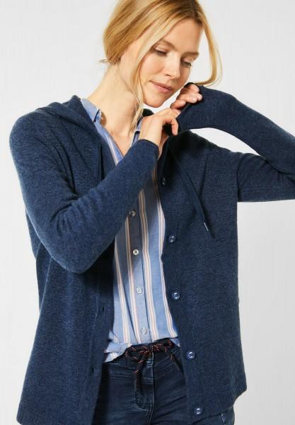 Cardigan aus Flex Knit in Middle Blue Melange von CECIL ...