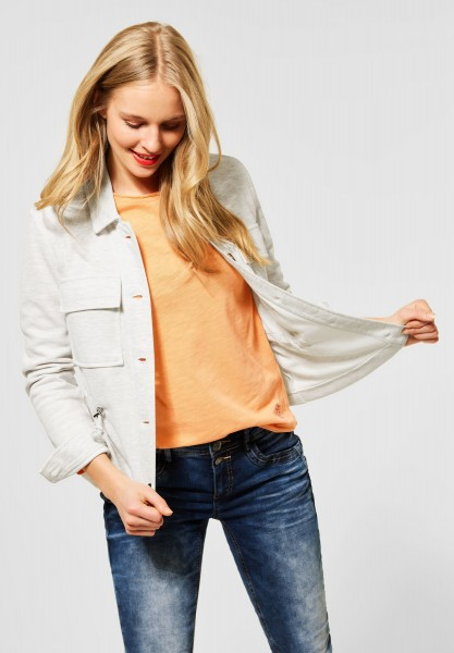 Street One - Kurze Indoor-Jacke in Off White