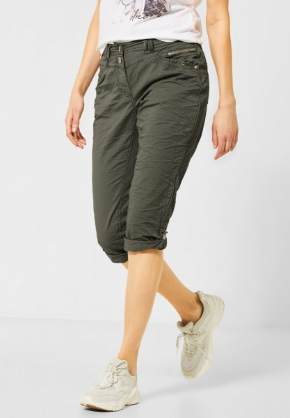 CECIL - 3/4 Hose im Colour-Style in Simply Khaki