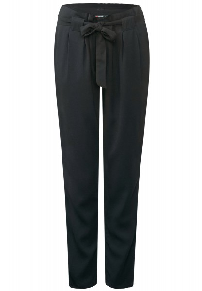 Street One - Casual-Fit Hose Marlo Black