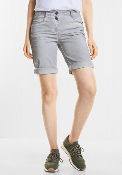 CECIL - Lässige Shorts New York in Cool Silver
