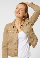 Street One - Denimjacke Roxana in Creamy Sand Denim