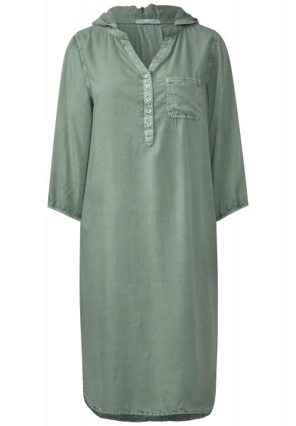 CECIL - Knielanges Tunika-Kleid Pastel Reed Green