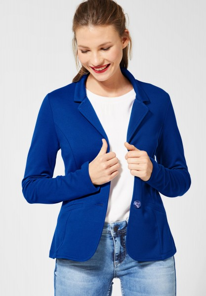 Street One - Softer Blazer Jordis in Cobalt Blue