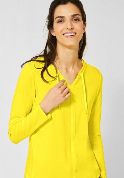 CECIL - Shirt im Tunika-Style in Fresh Yellow