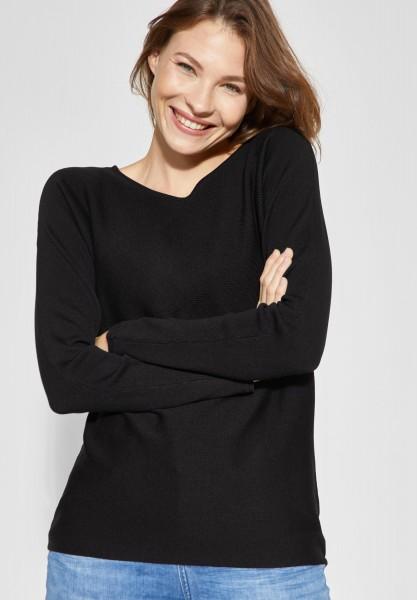 Street One - Basic Pullover Blanka in Black