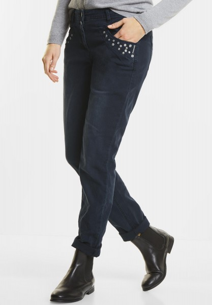 CECIL - Nietenhose New York in Deep Blue