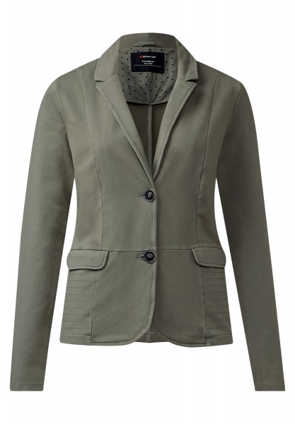 Street One - Sweatblazer Kenni Dusty Olive