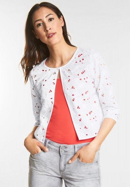 Street One - Feminine Spitzenjacke in White