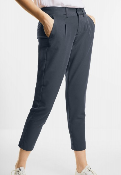 Street One - Leichte 7/8-Chinohose Jacky in Baltic Grey