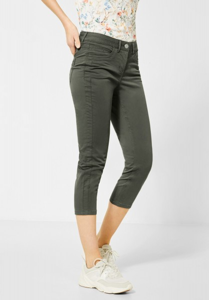 CECIL - Slim Fit Hose in Simply Khaki