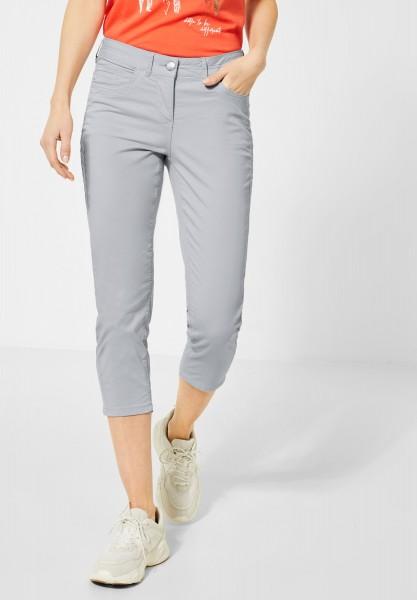 CECIL - Slim Fit Hose in Cool Silver