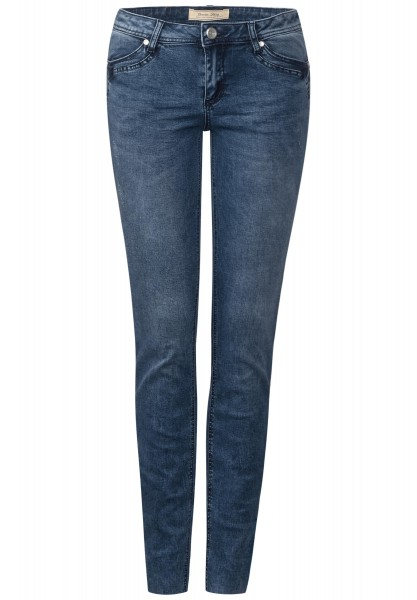Street One - Washed Denim York in Natural Denim Wash