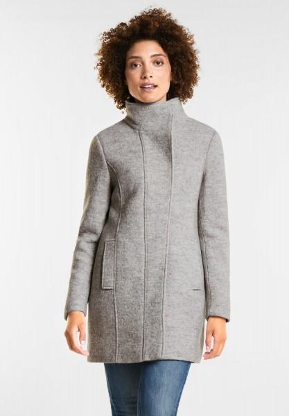 Street One - Cooler Mantel Desi in Soft Grey Melange