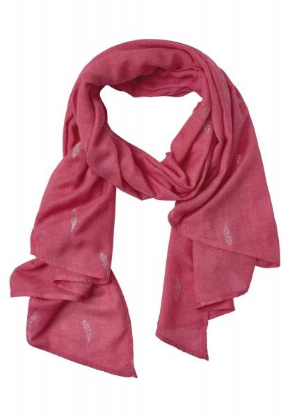 Street One - Asymmetrischer Schal Celia in Passion Pink