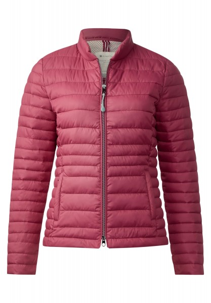 Street One - Leichte Steppjacke Karla in Fuchsia Blush