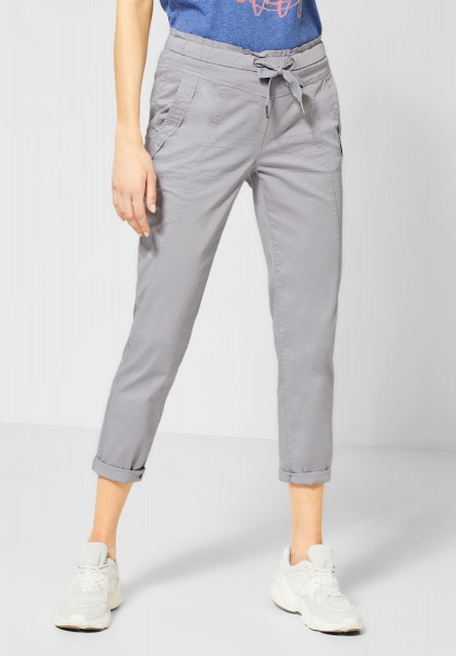 CECIL - Loose Fit Hose Chelsea in Cool Silver