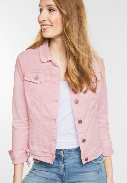 CECIL - Jeans Jacke Hedda in Soft Blossom