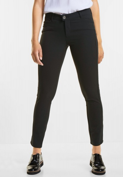 Street One Coole Stretchhose York in Black