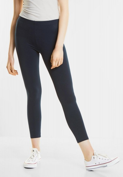 Street One - Basic Style Leggings in Deep Blue