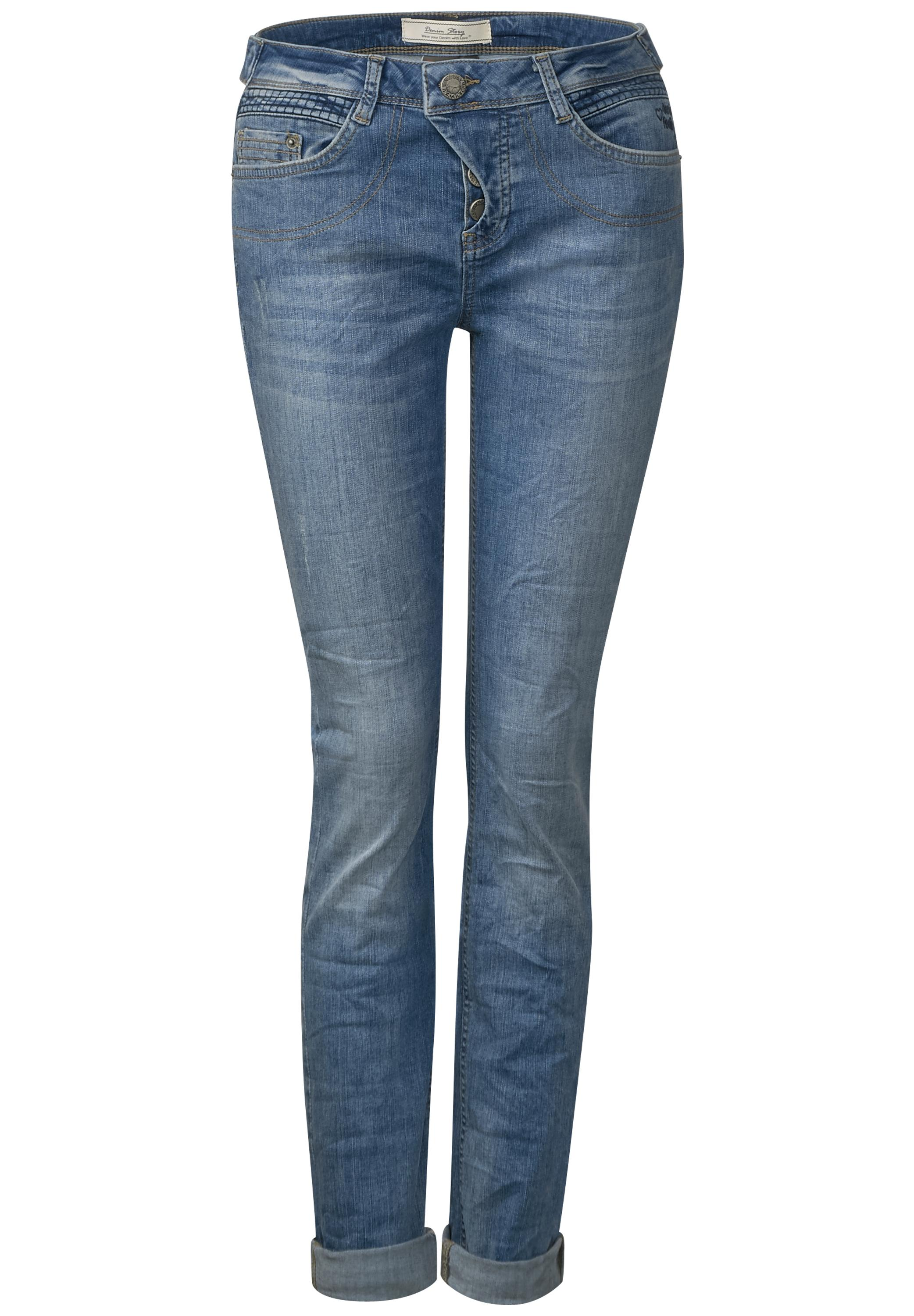Street One Loose Fit Jeans Mika in Authentic Indigo Wash