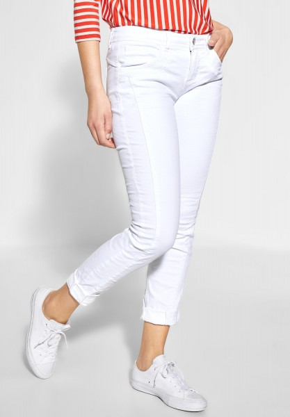 Street One - Colourdenim Crissi in White