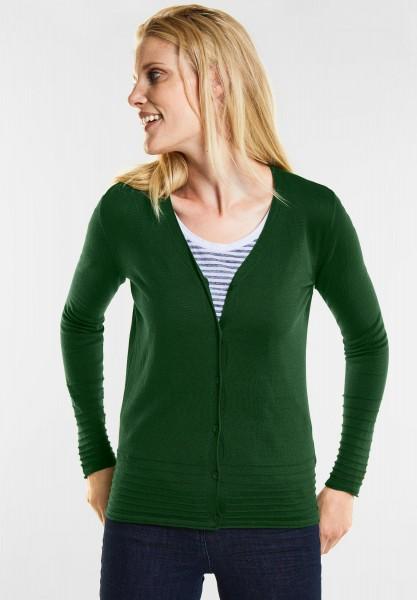 CECIL - Basic Cardigan in Fresh Meadow Green