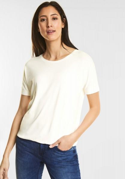 Street One - Weiches Shirt Gunja in Off White