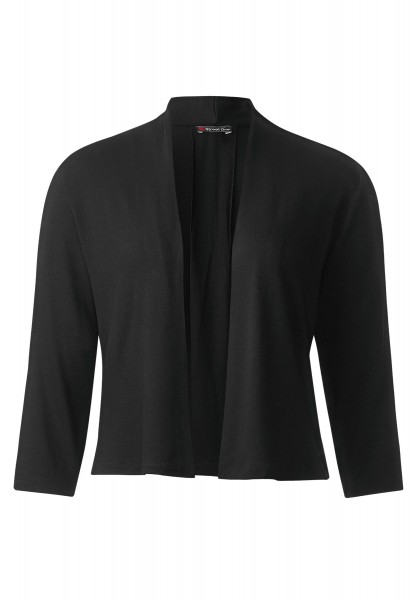 Street One - Offene Shirtjacke Peggy in Black