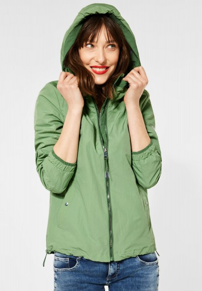 Street One - Sportlicher Windbreaker in Decent Green