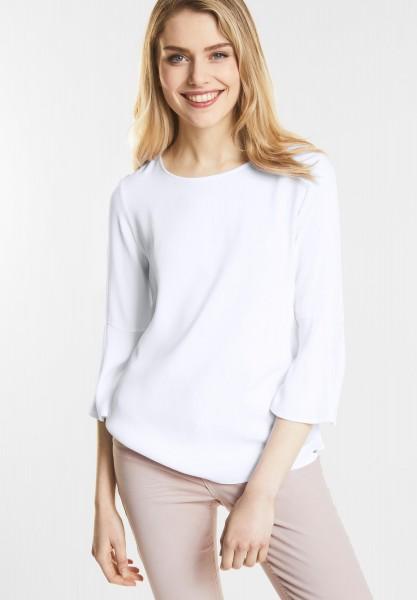 Street One - Volants Shirt Finja in White