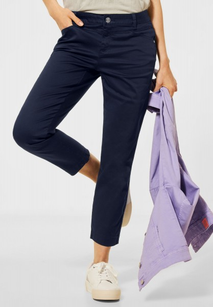 Street One - Casual Fit Hose in Deep Blue