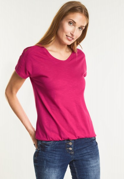 CECIL - Cooles Cold-Shoulder Shirt in Galaxy Pink
