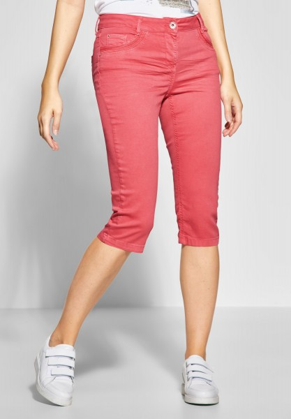 CECIL - Softe 3/4 Hose Victoria in Neo Coralline Red