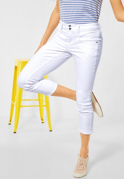 Street One - Casual Fit Denim in weiß in White