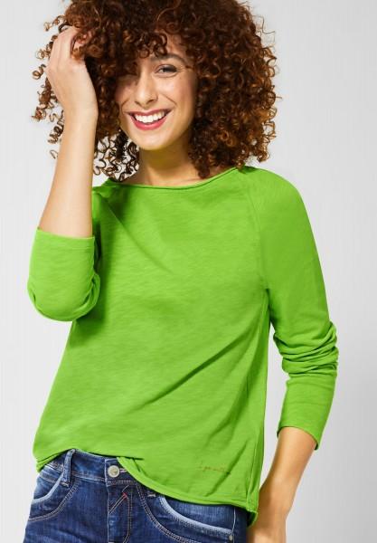 Street One - Basic Shirt Mina in Flash Lime