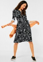 Street One - Kleid mit Print in Black